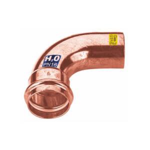 CU zacisk/zapras  kolano 90 1k 15 /nyplowe/ - woda i gaz