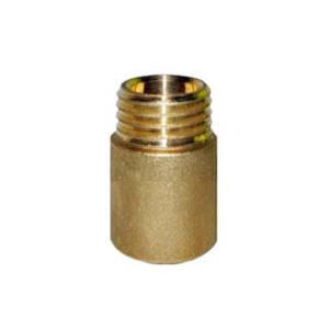 Przedłużka  mosiężna   3/8` L-10 mm
