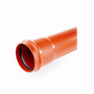 Kanaliz. rura fi 110 pomarańczowa L- 500 mm /ścianka 3,2mm/