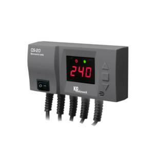 KG Elektronik sterownik  CS-20  - pompa c.o.+wentylator