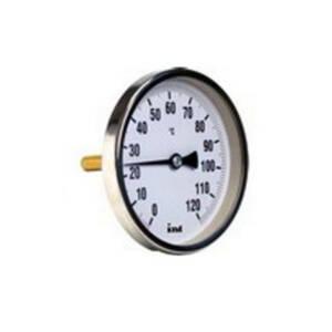 Termometr tarczowy tylny /63 mm/ - axialny