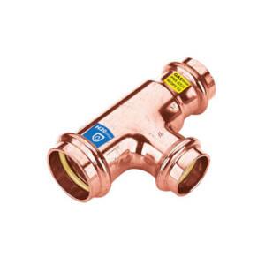 CU zacisk/zapras  trójnik  redukc. 18x15x18 - woda i gaz