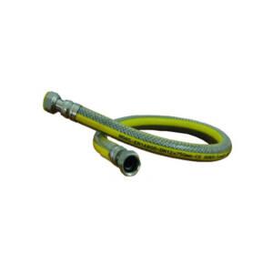 Wąż elastyczny do gazu   L-500mm  1/2` GW-GW / nakrętki obrotowe/ - do butli gazowej