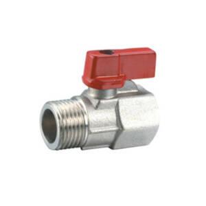 Zawór kulowy wodny mini 1/2` GW-GZ chrom