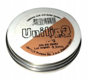 Lut miękki 2,5 mm  100g