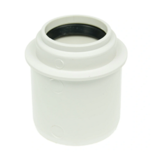Kanaliz. redukcja fi  50/32 prosta niska  /krótka/ biała