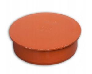Kanaliz. korek fi 110 pomarańczowy