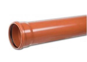Kanaliz. rura fi 160 pomarańczowa L- 500 mm  /ścianka 3,2mm/