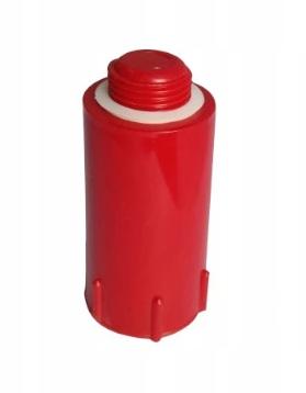 Korek do prób szczelności ciśnienia czerwony 1/2` - długi