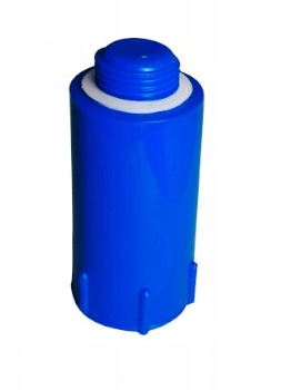 Korek do prób szczelności ciśnienia niebieski 1/2` - długi