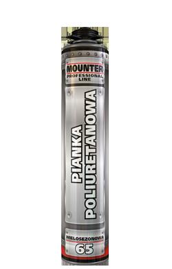 Pianka poliuretanowa Mounter pistoletowa  860ml