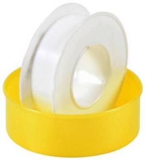 Taśma teflonowa gaz duża  /rolka żółta duża/