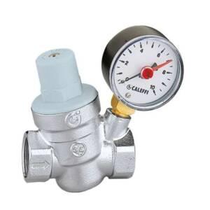 Caleffi reduktor ciśnienia   1/2` z manometrem