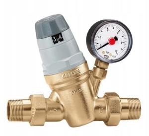 Caleffi reduktor. ciśnienia 1` z filtrem i manometrem