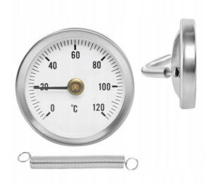 Termometr tarczowy opaskowy /63mm/