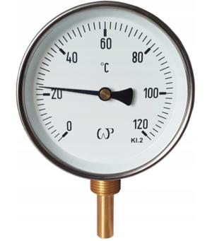 Termometr tarczowy pionowy /63mm/ -radialny