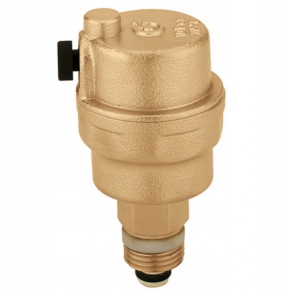 Odpowietrznik  automatyczny  c.o.  Caleffi   3/8` Robocal /mosiężny/-max.10bar