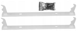 Wieszak grzejnika aluminiowego H-500 /konsola-komplet/