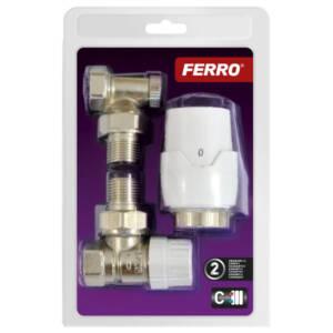 Komplet termostatyczny do grzejnika kątowy Ferro Ztm21