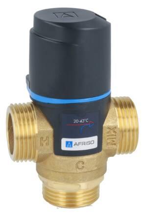 Afriso termostatyczny zawór mieszający ATM 561 g1` (temp.20-43 st.) kvs 2,5