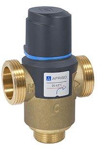 Afriso termostatyczny zawór mieszający ATM 761 g1` (temp.20-43 st.) kvs 3,2