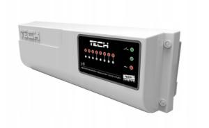 Tech listwa sterująca  L-5 /przewodowy sterownik zaworów termost.-8 sekcji/