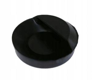 Korek gumowy wanna/zlew - duży /czarny/