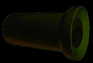 Sztucer - traper /przyłącze/ wc prosty biały L-150