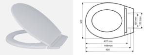Deska S- 11 biała  Artgos