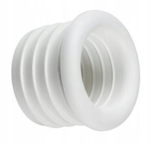 Redukcja gumowa biała 32/25 -do pralki/zmywarki