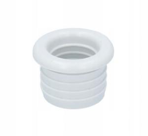 Redukcja gumowa biała 40/25 -do pralki/zmywarki