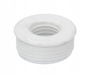 Redukcja gumowa biała 56/32 do muszla wc-górnopłuk