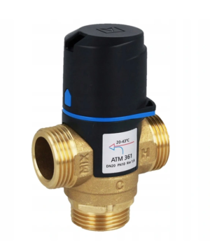 Afriso termostatyczny zawór mieszający ATM 361 g1` (temp.20-43 st.) kvs 1,6