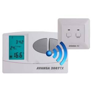 KG Elektronik termostat pokojowy Avansa 2007 TX - bezprzewodowy /radiowy/