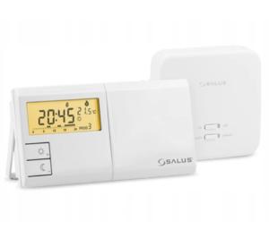 Salus bezprzewodowy/radiowy/, elektroniczny regulator temperatury - tygodniowy 091FLRFV2